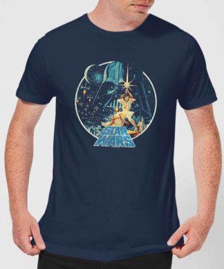 T-Shirt Homme Vintage Victory Star Wars Classic - Bleu Marine - XS chez Casa Décoration