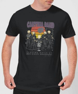 T-Shirt Homme Cantina Band At Spaceport Star Wars Classic - Noir - XS chez Casa Décoration