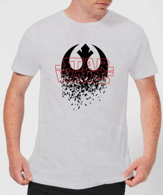 T-Shirt Homme Emblème Explosé - Star Wars - Gris - XS chez Casa Décoration