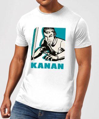 T-Shirt Homme Kanan Star Wars Rebels - Blanc - XS - Blanc chez Casa Décoration