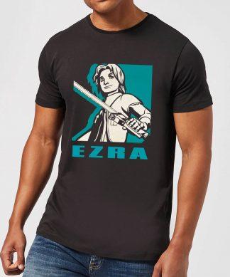 T-Shirt Homme Ezra Star Wars Rebels - Noir - XS chez Casa Décoration