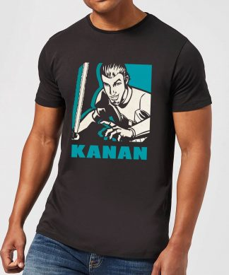 T-Shirt Homme Kanan Star Wars Rebels - Noir - XS - Noir chez Casa Décoration