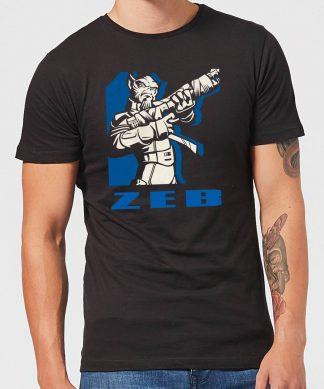 T-Shirt Homme Zeb Star Wars Rebels - Noir - XS - Noir chez Casa Décoration