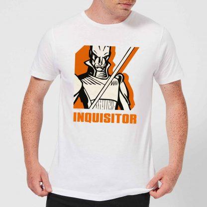 T-Shirt Homme Inquisitor Star Wars Rebels - Blanc - XS - Blanc chez Casa Décoration