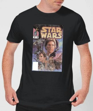 T-Shirt Homme Couverture Comics Star Wars Classic - Noir - XS - Noir chez Casa Décoration