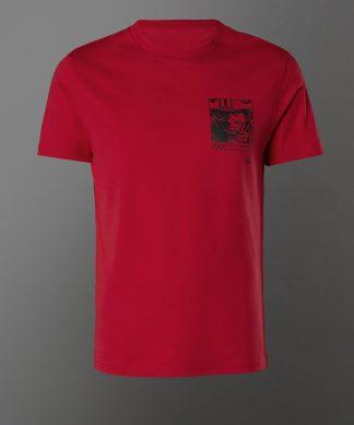 T-shirt Star Wars Luke Skywalker - Rouge - Unisexe - XS - Rouge chez Casa Décoration