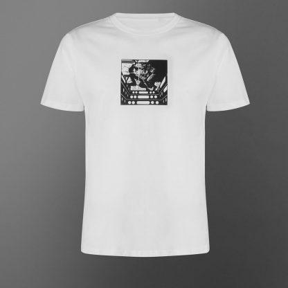 T-shirt Star Wars Duel On Bespin - Blanc - Unisexe - XS - Blanc chez Casa Décoration