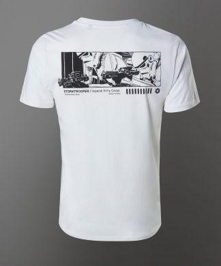 T-shirt Star Wars Stormtrooper - Blanc - Unisexe - XS - Blanc chez Casa Décoration