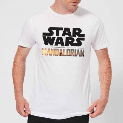 The Mandalorian Mandalorian Title Men's T-Shirt - White - XS chez Casa Décoration