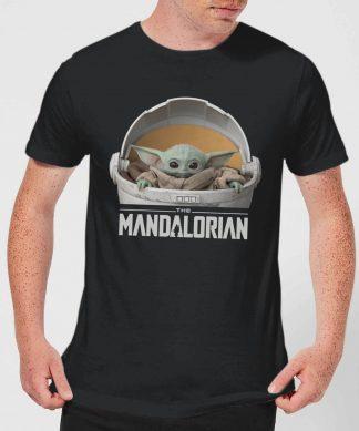 The Mandalorian The Child Men's T-Shirt - Black - XS chez Casa Décoration
