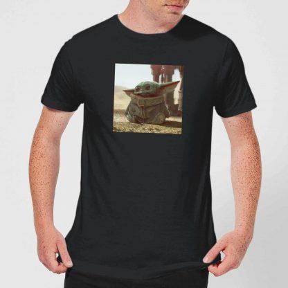 The Mandalorian Baby Yoda Men's T-Shirt - Black - XS chez Casa Décoration