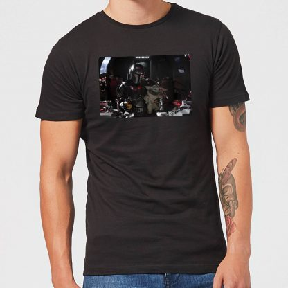 The Mandalorian Pilot And Co Pilot Men's T-Shirt - Black - XS chez Casa Décoration