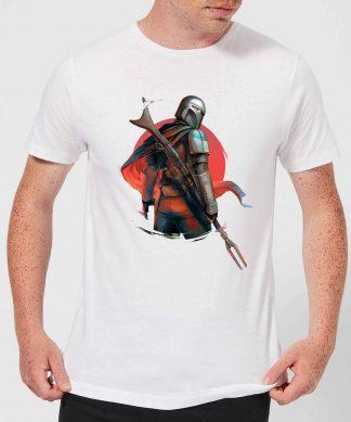 The Mandalorian Blaster Rifles Men's T-Shirt - White - XS chez Casa Décoration