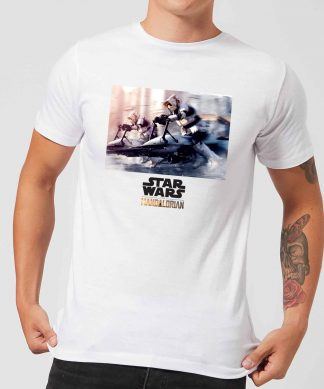 The Mandalorian Scout Trooper Men's T-Shirt - White - XS chez Casa Décoration