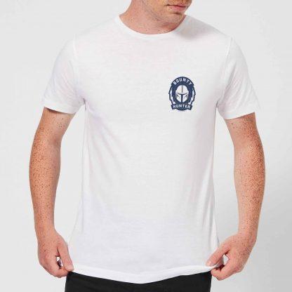 The Mandalorian Bounty Hunter Men's T-Shirt - White - XS chez Casa Décoration