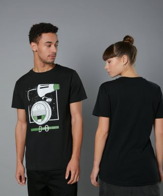 The Rise of Skywalker -T-shirt D-O - Noir - Unisexe - XS - Noir chez Casa Décoration