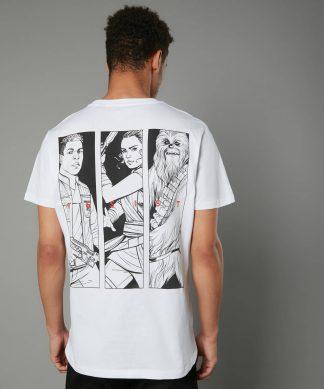 The Rise of Skywalker -T-shirt Resist - Blanc - Unisexe - XS chez Casa Décoration