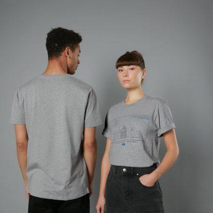 The Rise of Skywalker -T-shirt Resistance - Gris - Homme - Unisexe - XS chez Casa Décoration