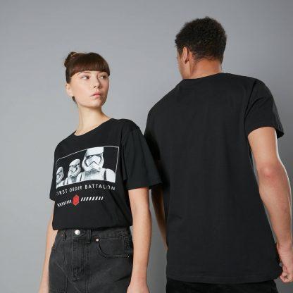 The Rise of Skywalker -T-shirt First Order Battalion - Noir - Unisexe - XS - Noir chez Casa Décoration