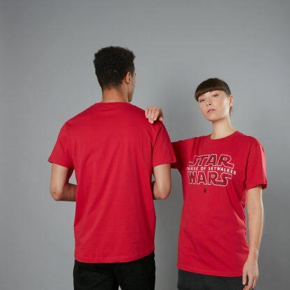The Rise of Skywalker -T-shirt The Dark Side - Rouge - Homme - Unisexe - XS - Rouge chez Casa Décoration