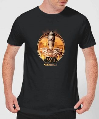The Mandalorian IG 11 Framed Men's T-Shirt - Black - XS chez Casa Décoration