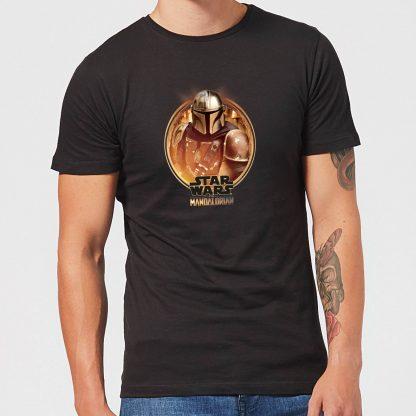 The Mandalorian Framed Men's T-Shirt - Black - XS - Noir chez Casa Décoration
