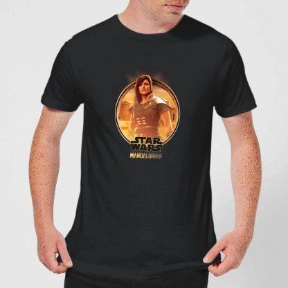 The Mandalorian Cara Dune Framed Men's T-Shirt - Black - XS - Noir chez Casa Décoration
