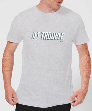 Star Wars: The Rise Of Skywalker Jet Trooper Men's T-Shirt - Grey - XS - Gris chez Casa Décoration