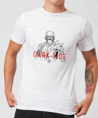 Star Wars: The Rise Of Skywalker Kylo Darkside Powers Men's T-Shirt - White - XS chez Casa Décoration