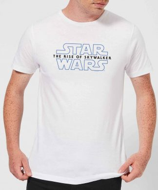 Star Wars: The Rise Of Skywalker Logo Men's T-Shirt - White - XS - Blanc chez Casa Décoration