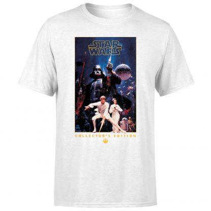 T-Shirt Star Wars Collector's Edition - Homme - Blanc - XS - Blanc chez Casa Décoration