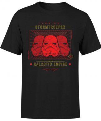 T-Shirt Star Wars Stormtrooper Legion Grid - Homme - Noir - XS - Noir chez Casa Décoration