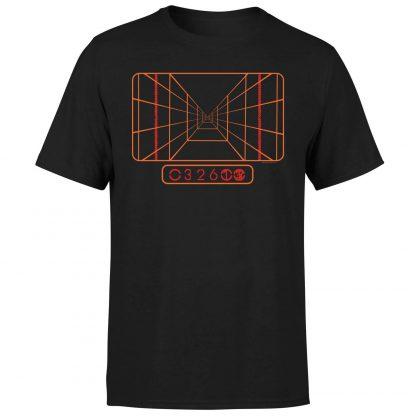 T-Shirt Star Wars Targeting Computer - Homme - Noir - XS chez Casa Décoration
