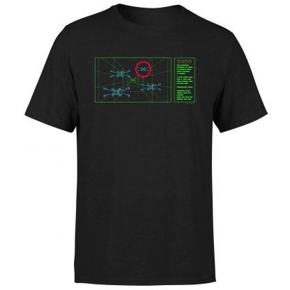 T-Shirt Star Wars X-Wing Target - Homme - Noir - XS - Noir chez Casa Décoration