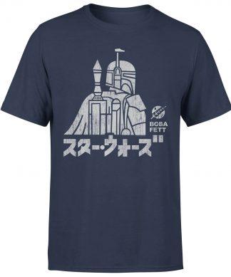 T-Shirt Star Wars Kana Boba Fett - Homme - Bleu Marine - XS - Navy chez Casa Décoration