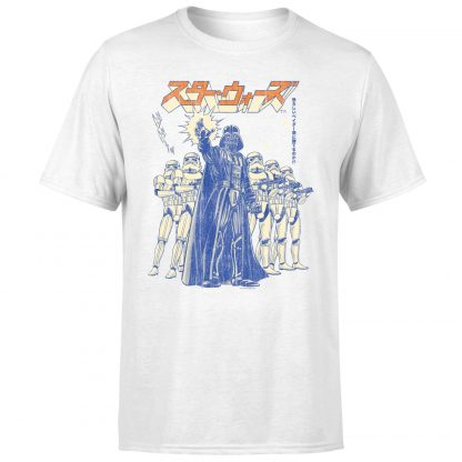 T-Shirt Star Wars Kana Force Choke - Homme - Blanc - XS - Blanc chez Casa Décoration