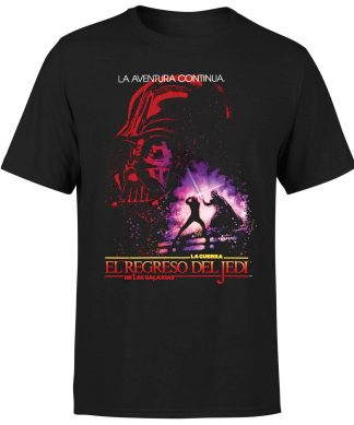 T-Shirt Star Wars ROTJ Spanish - Homme - Noir - XS chez Casa Décoration