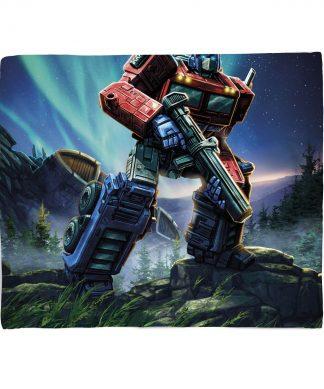 Plaid Transformers Optimus Prime - S chez Casa Décoration