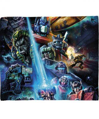 Plaid Transformers Earthrise - S chez Casa Décoration