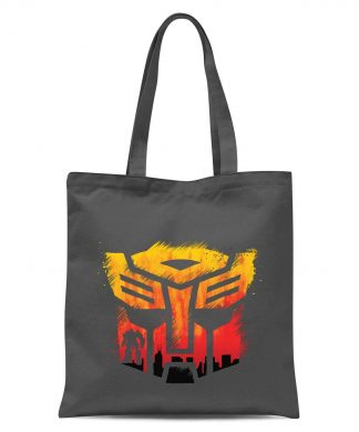 Transformers Autobot Symbol Tote Bag - Grey chez Casa Décoration