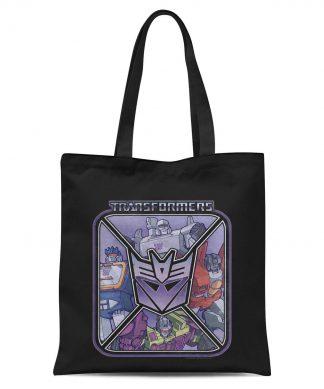 Transformers Decepticons Tote Tote Bag - Black chez Casa Décoration