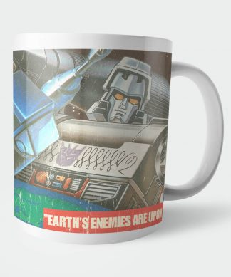 Transformers Warning Mug Mug chez Casa Décoration