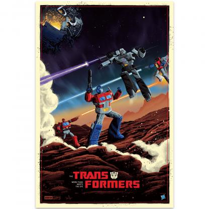 Transformers Giclee Print By Derek Payne - 16 x 24 inch chez Casa Décoration