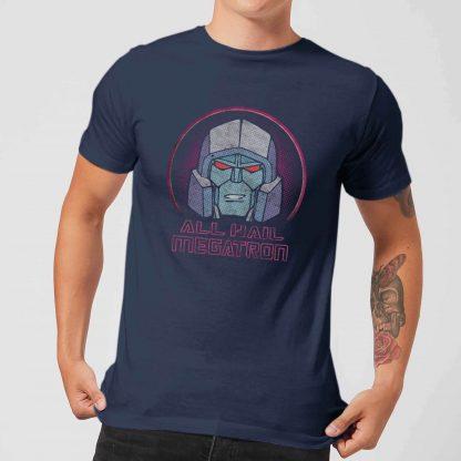 Transformers All Hail Megatron Men's T-Shirt - Navy - XS - Navy chez Casa Décoration