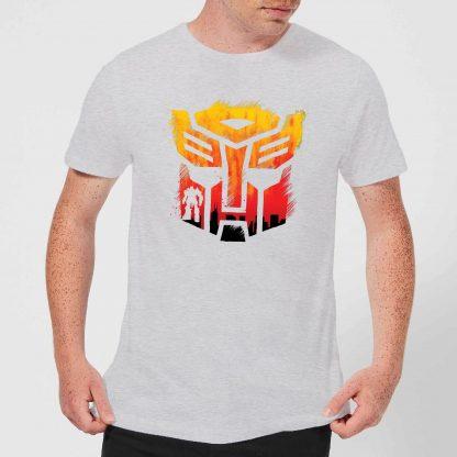 Transformers Autobot Symbol Men's T-Shirt - Grey - XS - Gris chez Casa Décoration