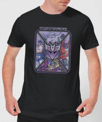 Transformers Decepticons Men's T-Shirt - Black - XS chez Casa Décoration