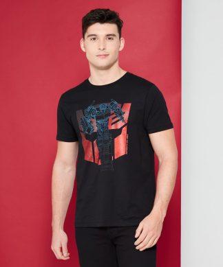 Transformers Autobot Shield T-Shirt - Noir - XS chez Casa Décoration