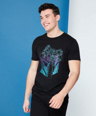 Transformers Decepticon Shield T-Shirt - Noir - XS - Noir chez Casa Décoration