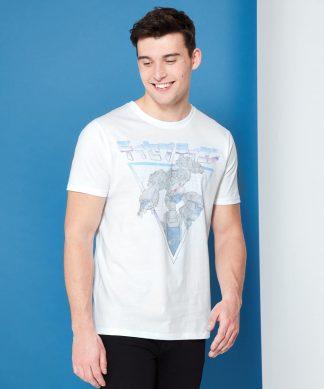 Transformers Megatron Rétro Japonais T-Shirt - Blanc - XS - Blanc chez Casa Décoration