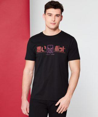 Transformers Bad Bot T-Shirt - Noir - XS chez Casa Décoration